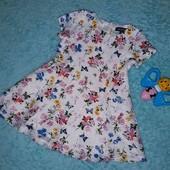 Красивенное ажурное фирменное платье на принцессу 4-9 мес + подарок!.