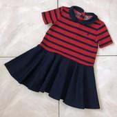 Стоп ! ❤ Фирменное яркое трикотажное платье,1,5- 2 года❤ Много лотов!