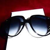 Массивные солнцезащитные очки Gucci(реплика)