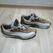 Ecco/Кожаные кроссовки (Нубук) /Унисекс /38-39 размер!!!