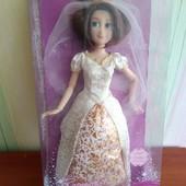раритет! Кукла принцесса дисней Рапунцель - невеста, свадебное платье
