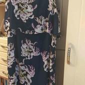 очень нарядное шифоновое платье. фирма Vila