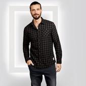 Отличная мужская фланелевая рубашка Livergy Германия размер M (39/40)