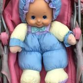 Классная фирменная мягкая куколка для сна и игры 38см.!!! City toys!!