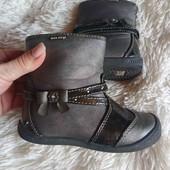 Деми ботинки 25р. 16 см. стелька