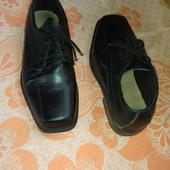 Кожаные туфли, стелька 20,5 см