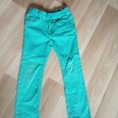 Бірюзові джинси в хорошому стані, 10% знижка на УП
