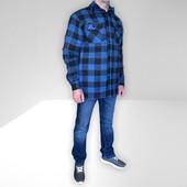 Бомба Фирменная тёплая мужская куртка-рубашка с карманами врезными,на весну!Fox Outdoor Рекомендуем!