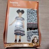 Германия!!! Симпатичное лёгкое платье-сарафан для девочки! 92 рост, полномерный!