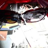 Солнцезащитные очки от Gabriela Mariony, 100% протектор защиты, вишня