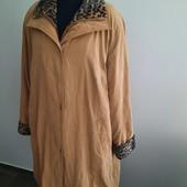 Утепленное пальто, трапеция