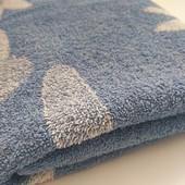 Махровий добротний плотний якісний банний рушник 130*65 у відмінному стані європейська якість
