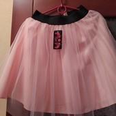 Нарядные юбочки с фатином для девочек