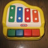 Музыкальное пианино-ксилофон. Игрушка 2 в одном.