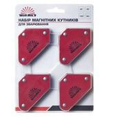Набор магнитных угольников для сварки, магнитный фиксатор 4 шт