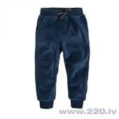 Синие велюровые штаны Smyk (072)