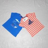 набор 2 шт! р. 74-80, футболка для мальчика хлопок Impidimpi, Германия