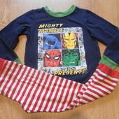 Пижама х\б Marvel состояние очень хорошее