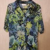 Лёгкая тропическая блузка