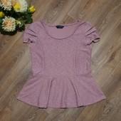 Нарядная пудровая блуза, р.46-48, состояние отличное. Много интересных лотов)