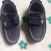 детские замшевые туфельки