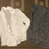 Кардиган тонкий та блуза шифонова розмір С