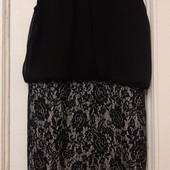Платье шифоновое с паетками