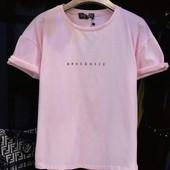 футболка универсальный размер р и цвет на выбор