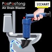 Пневматический вантуз для чистки засоров в трубах в унитазе PaoPaoTong 4 в 1