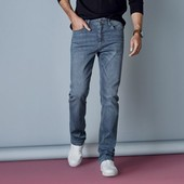 Крутые джинсы straight fit livergy р. 52 германия