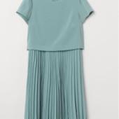 Элегантное универсальное платье большого размера h&m,22/56-58 р.
