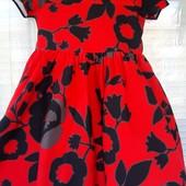 Нарядное платье Next для юной леди 4-5 лет в идеале