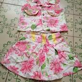 Пакет одежды для девочки 8 единиц