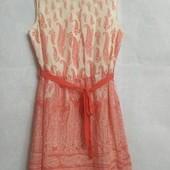 Яркое летнее платье, принт турецкие онурцы F&F