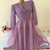 Новое безумно красивое платье, размер 40, L