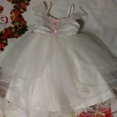 Платье на праздник, утренник, костюм принцессы, на 2-3 года