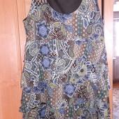 Красивое Платье-сарафан размер 48-52 сост.отл.см.замеры