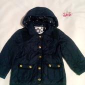 Фірмен.TU стьогана курточ. для дівчинки ріст.98-104 см Випрана , без запаху.
