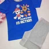 Комплект футболка +шорти