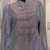 блуза из шелка цвет хамелеон