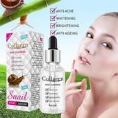 Сыворотка для лица Collagen Deep Cleasing улиточная с коллагеном и эластином 30 г