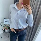 Рубашка в полоску. Стан нової.
