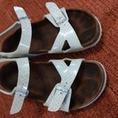 Birkenstocks оригинал, сандалики с правильной подошвой