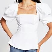 Блуза с объемными рукавами River Island (р.М)