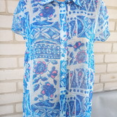 нежная блузочка Gloria jeans м-ка(спереди короче,сзаде длинее).одета 1раз.