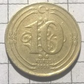 Монета Турции 10 курус 2009