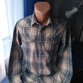 Мужская рубашка на заклёпках, р.S
