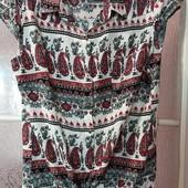 Красивая блуза ! на пуговицах размер M-L