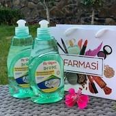 Средство для мытья посуды Farmasi Mr.Wipes Dishwashing Liquid