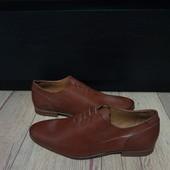 Туфлі із натуральної шкіри зовні і всередині 42 рр і устілка 28,5 з носиком